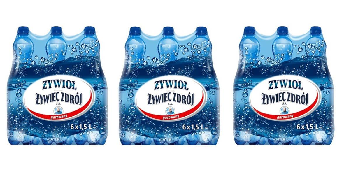 gazowanej wody + darmowa dostawa