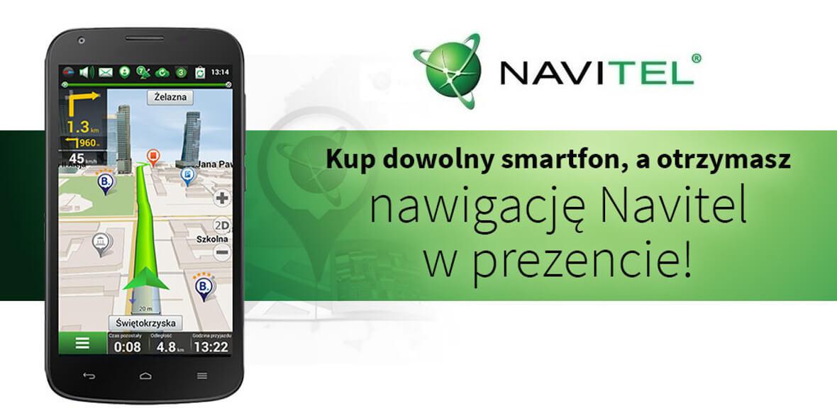 za nawigację Navitel przy zakupie smartfona