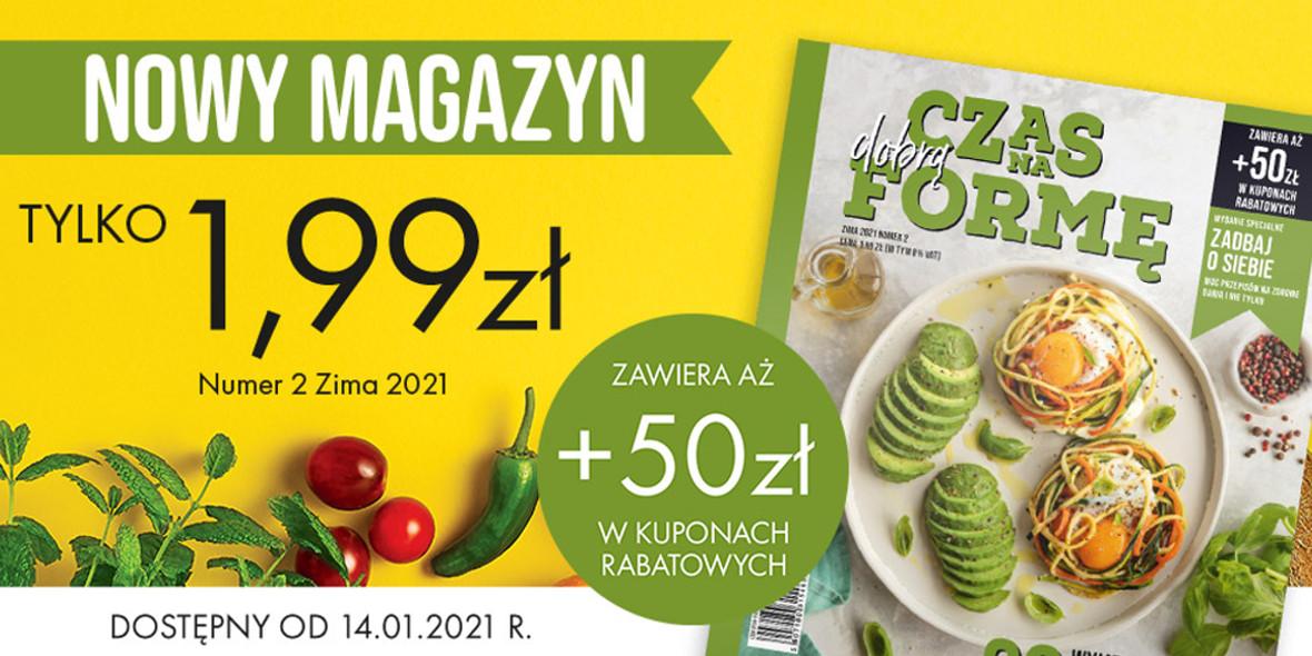 Biedronka:  50 zł w kuponach 14.01.2021