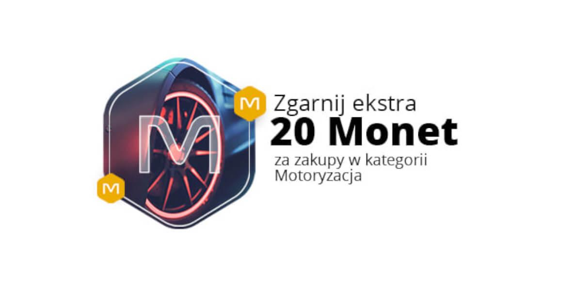Allegro: +20 Monet za zakupy w kategorii Motoryzacja 02.08.2021