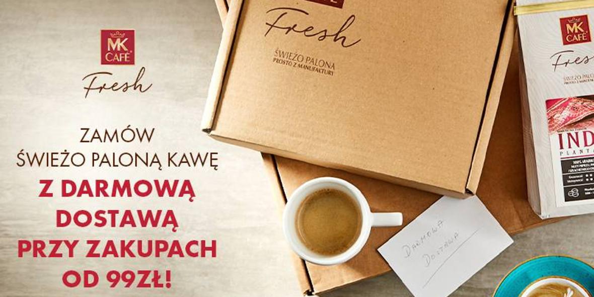 MK Cafe: Darmowa dostawa przy zakupach od 99 zł