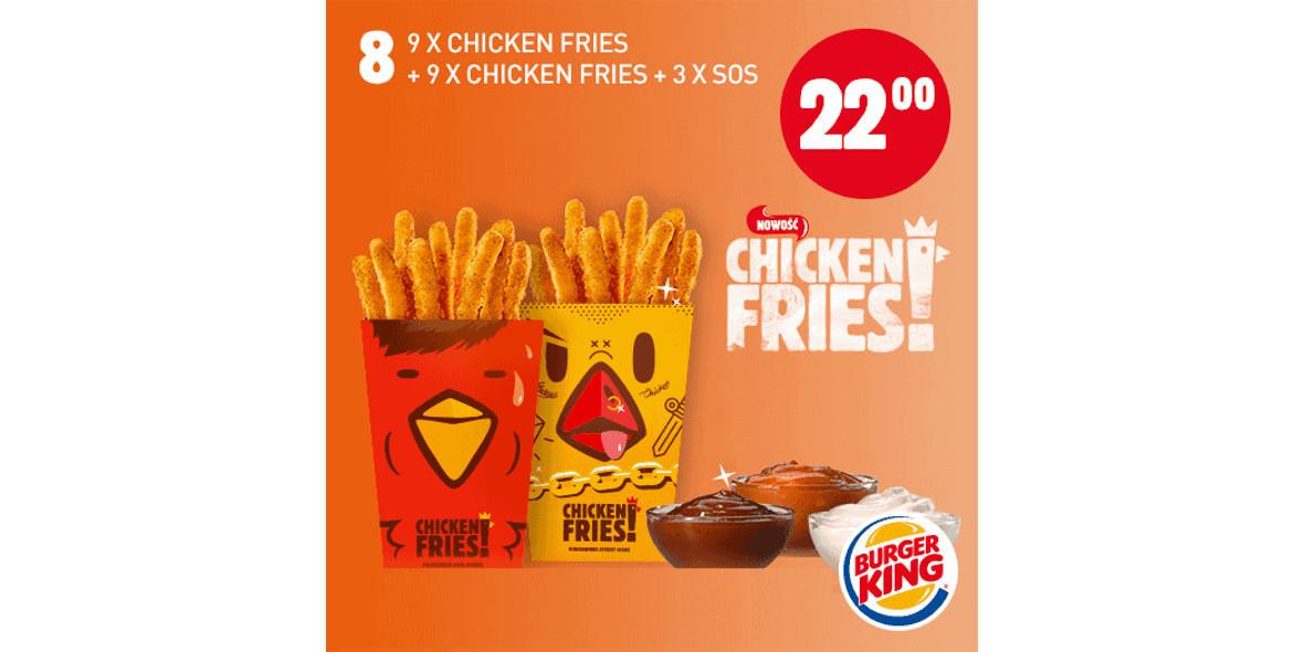 za 9x Chicken Fries + 9x Chicken Fries + 3x Sos