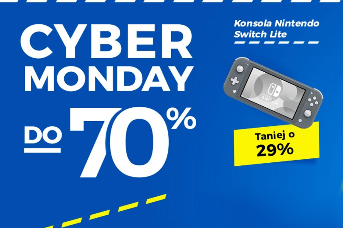 Allegro.pl: Do -70% Do -70% Cyber Monday na Allegro.pl 30.11.2020