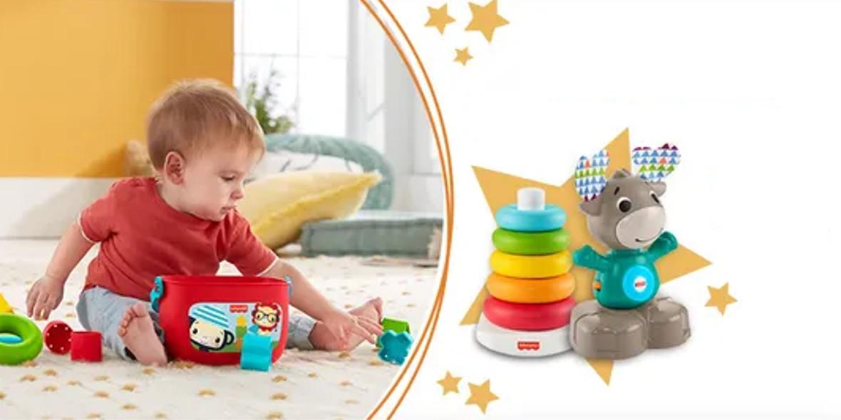 Smyk: Do -45% na zabawki niemowlęce 21.06.2021