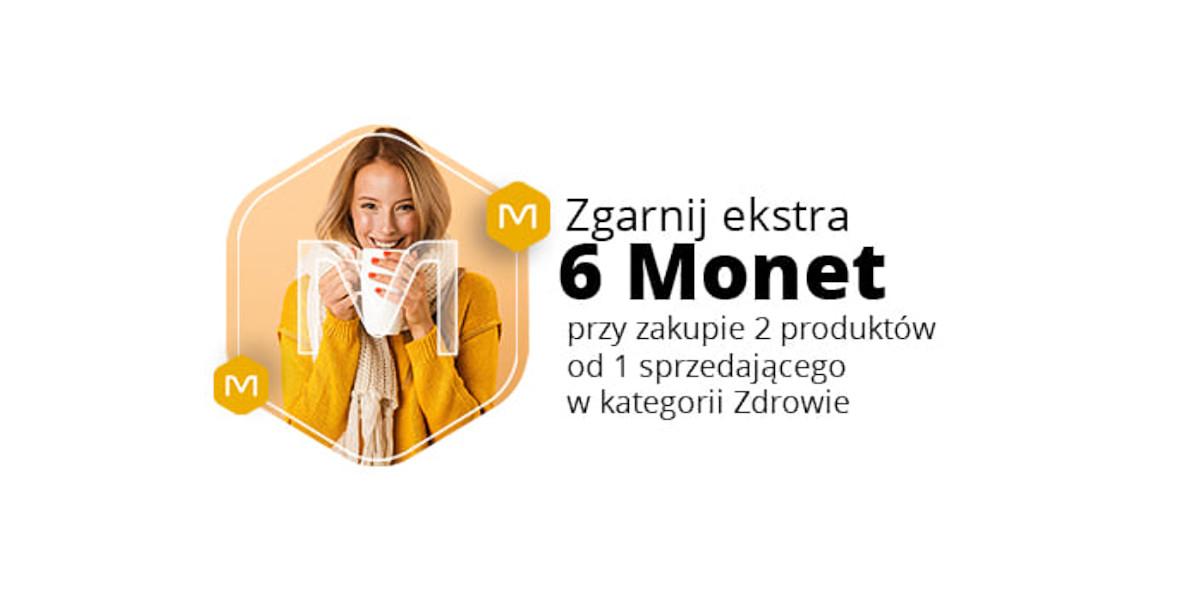 Allegro.pl: +6 Monet przy zakupie 2 produktów z kat. Zdrowie 26.01.2021
