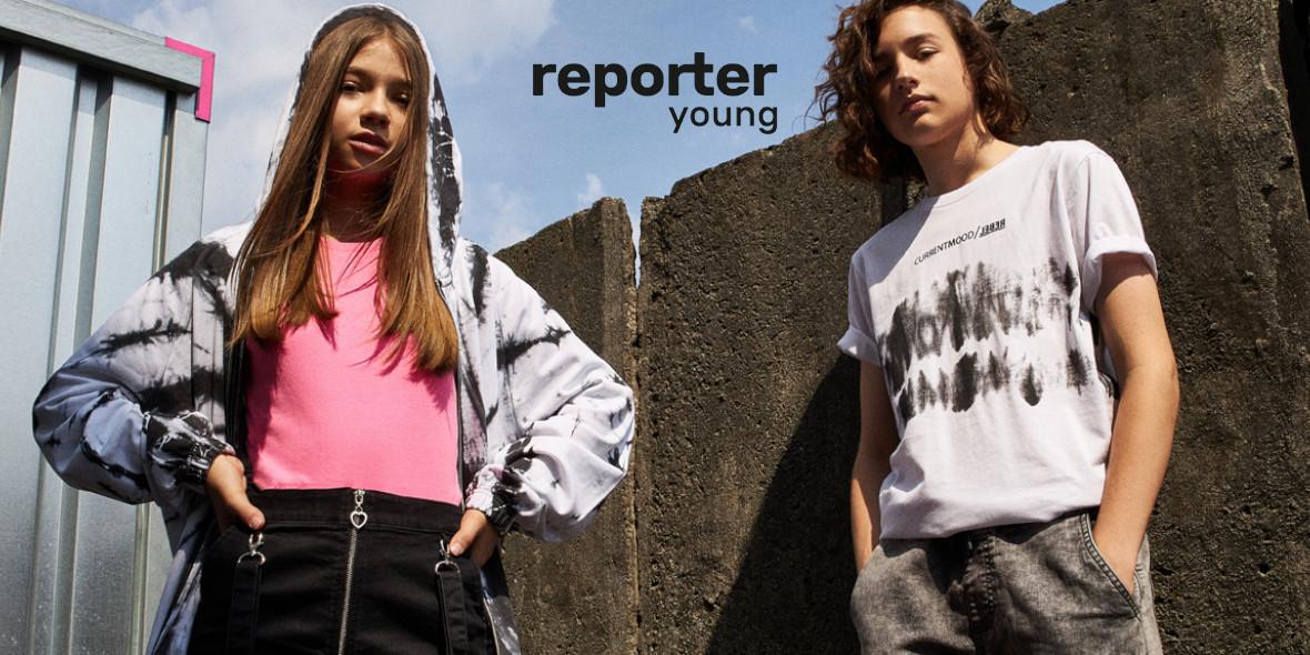 Reporter Young: Kod: -15% na nieprzeceniony asortyment