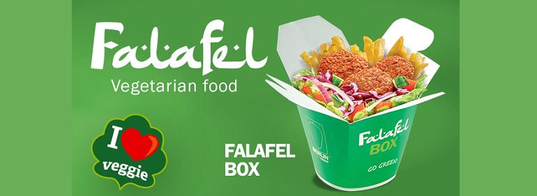12,95 zł za Falafel Box