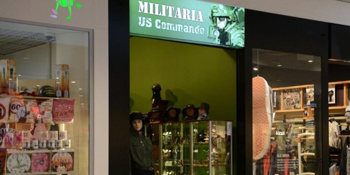 Militaria: -10% na wszystko