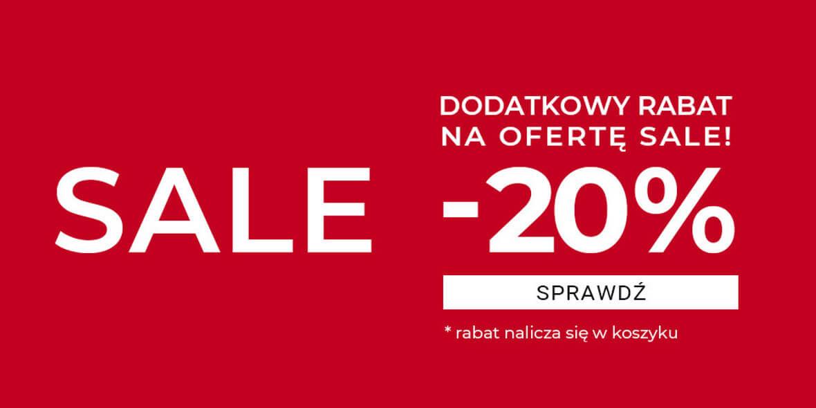Duka:  -20% dodatkowo na ofertę SALE 02.03.2021