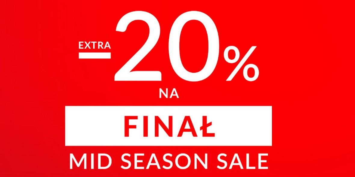 Top Secret:  Kod: -20% dodatkowo na Mid Season Sale 01.01.0001