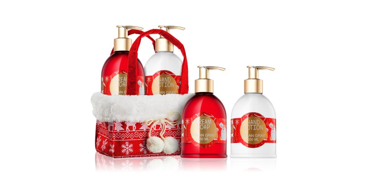 za zestaw kosmetyków Vivian Gray Red Christmas
