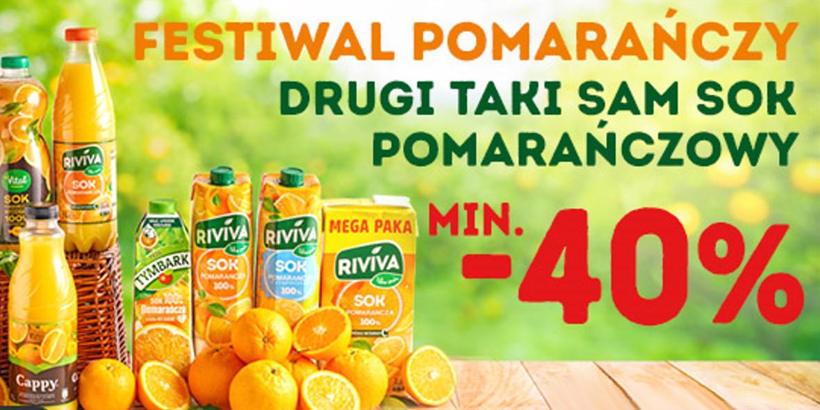 na drugi taki sam sok pomarańczowy