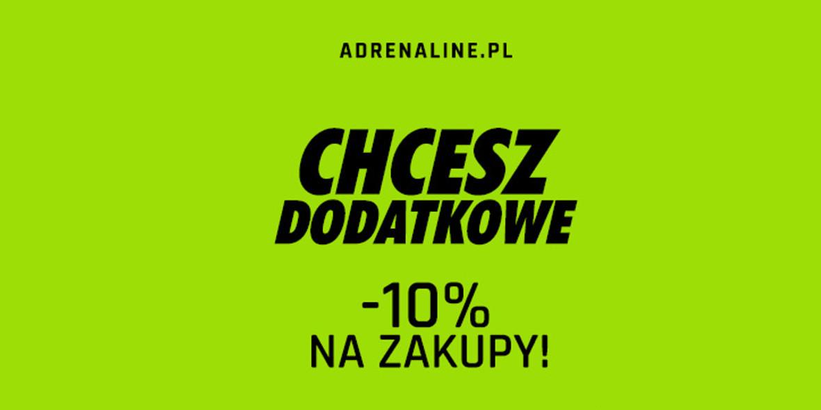 adrenaline.pl: Kod: -10% na wszystko 15.01.2021