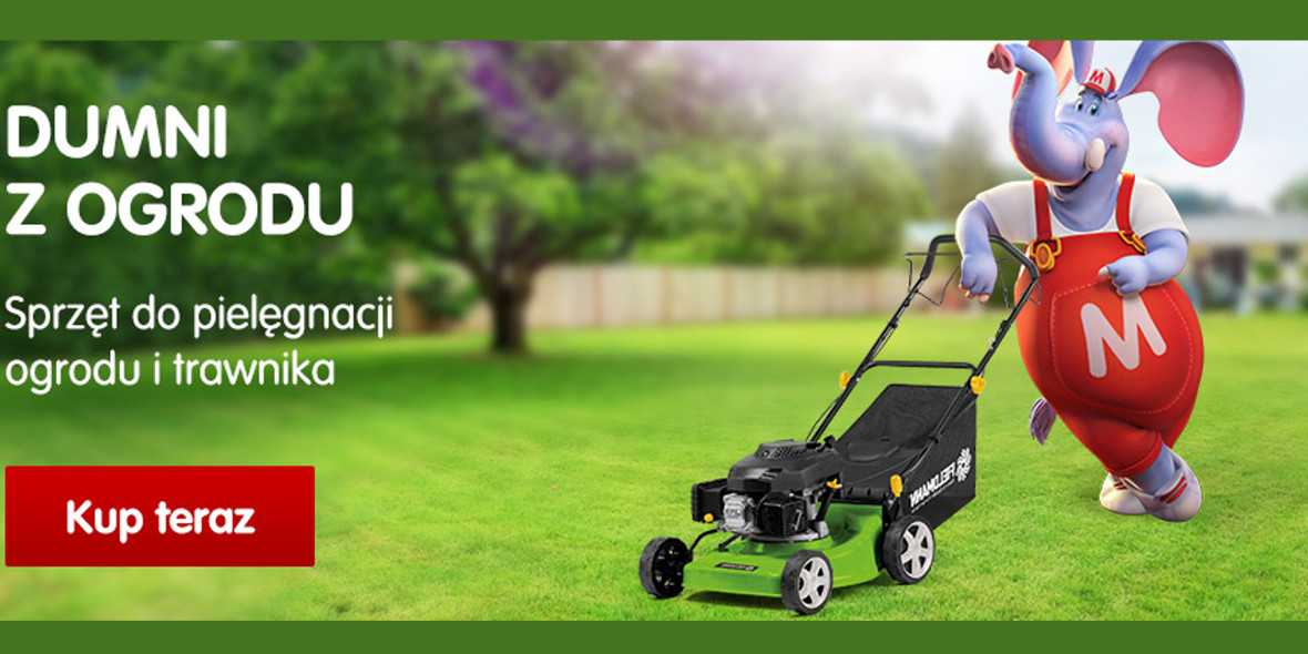 Mall.pl: Do -28% na sprzęt do ogrodu i trawnika