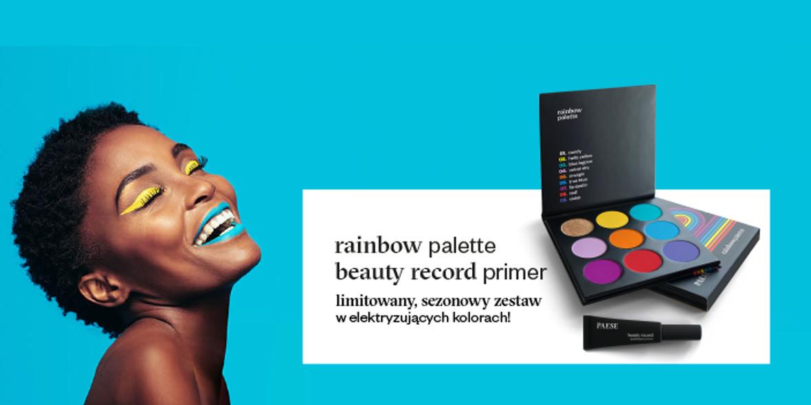 na kolorowe produkty do makijażu twarzy