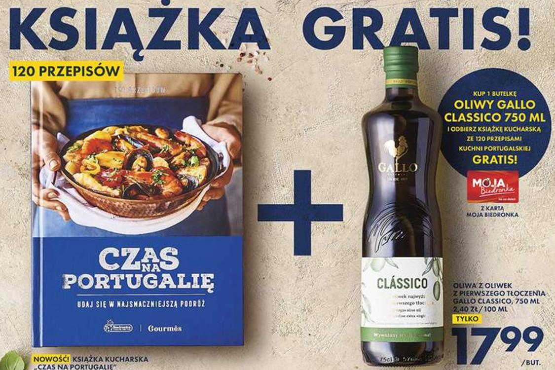 Biedronka: Gratis książka przy zakupie oliwy z oliwek