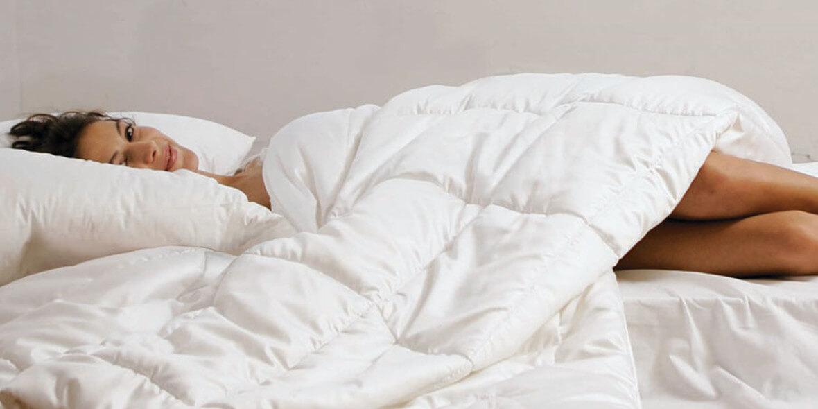 na kołdry i poduszki