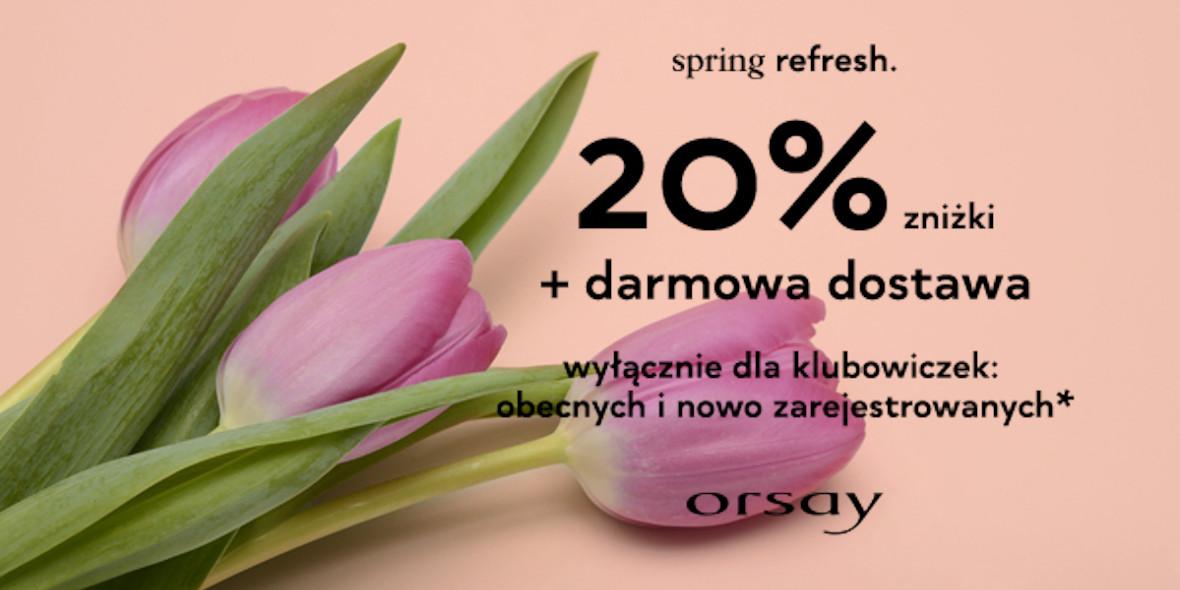 Orsay: Kod: -20% na wszystkie spódnice i sukienki 26.02.2021