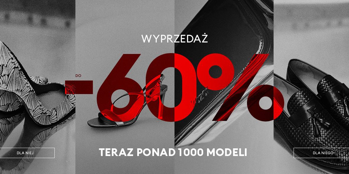 Kazar: Do -60% na ponad 1000 modeli