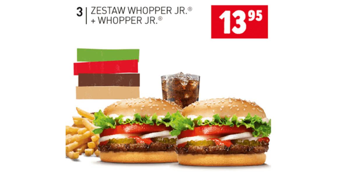 za Zestaw Whopper Jr.® + Whopper Jr.®