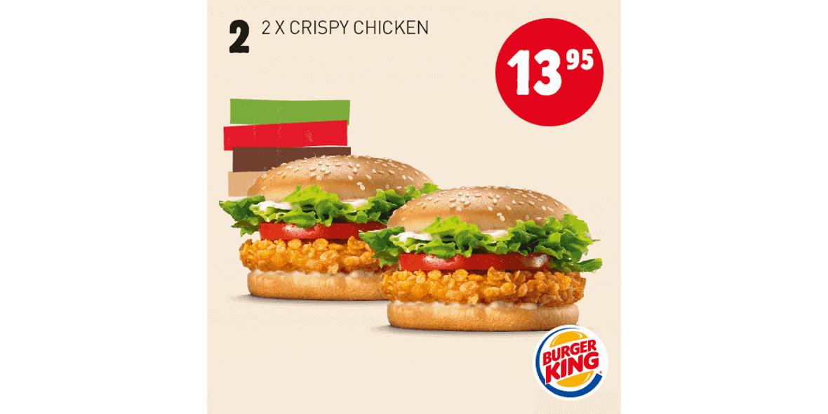 za 2x Crispy Chicken