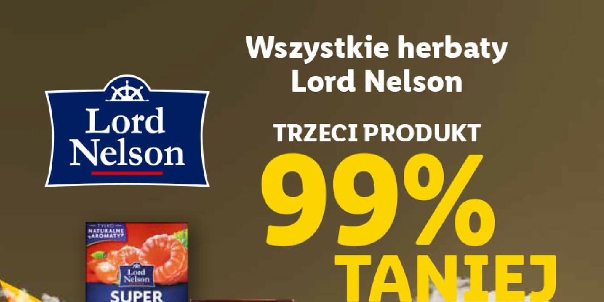 Lidl: -99% na trzecie opakowanie herbaty 25.10.2021
