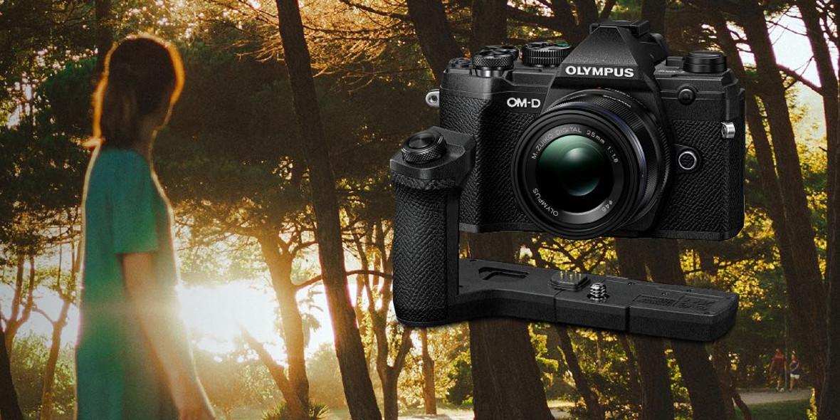 FotoForma: Gratis przy zakupie aparatu Olympus E-M5 Mark III 23.09.2021
