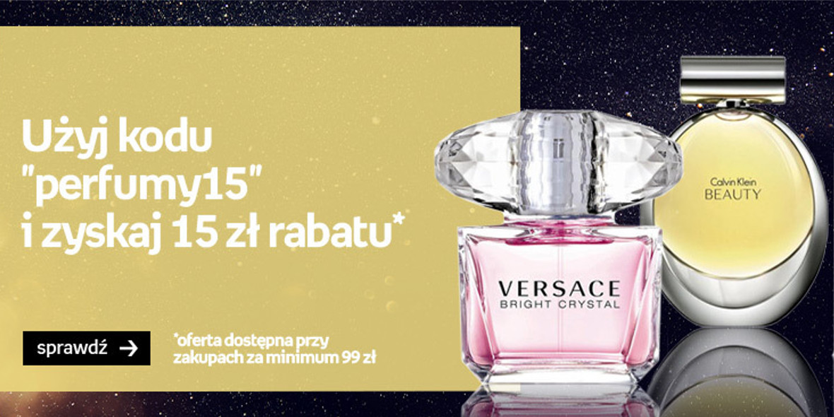 Empik: Kod: -15 zł na perfumy 27.07.2021