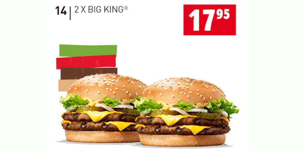 za 2x Big King