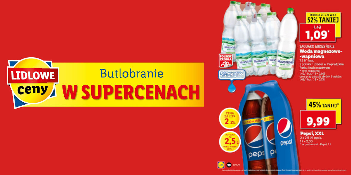 Lidl: Do 52% na Butlobraniu 15.04.2021