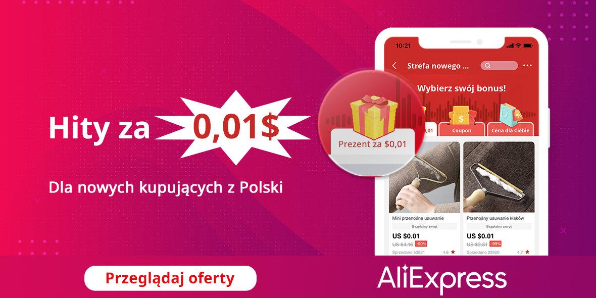 AliExpress: Do -99% hity za 0,01$ i do 17% zwrotu