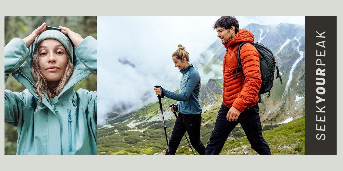 4F: Od 19,99 zł za kolekcję trekkingową