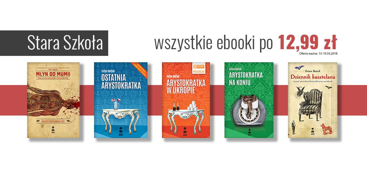 za wszystkie ebooki wydawnictwa Stara Szkoła