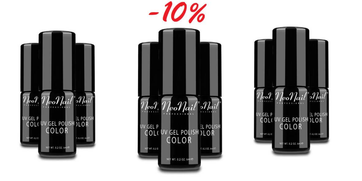 Neo Nail: -10% na lakiery hybrydowe w ofercie klasycznej 07.03.2019