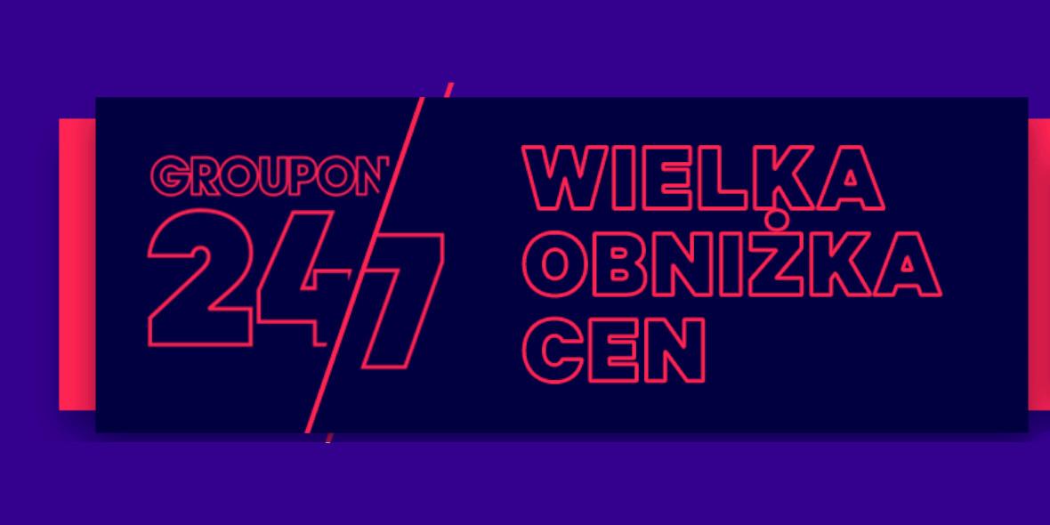 Groupon.pl:  Wielka Obniżka Cen 24/7 28.07.2021