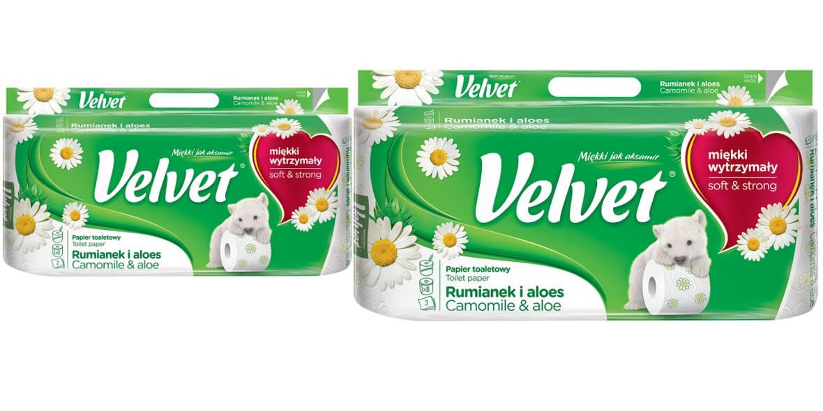 na papier toaletowy Velvet