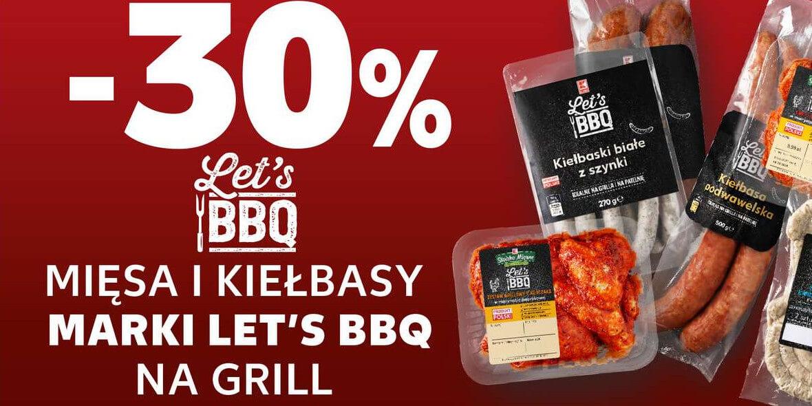 Kaufland: -30% na mięsa i kiełbasy marki Let's BBQ 02.08.2021