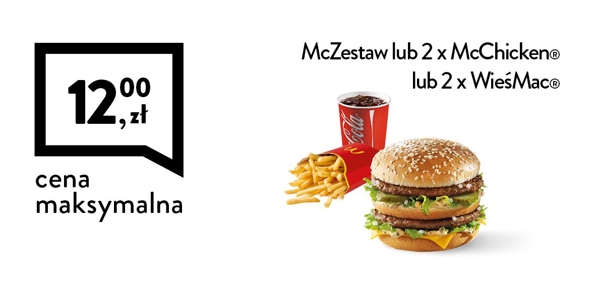 za McZestaw lub 2 x kanapka