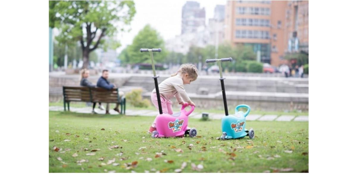 na hulajnogi i inne pojazdy dla dzieci