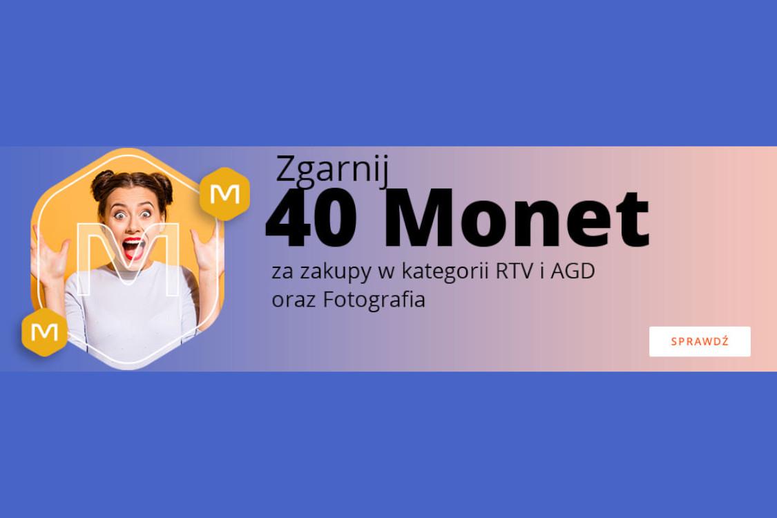 Allegro: +40 Monet za zakupy w kategorii RTV i AGD oraz Fotografia