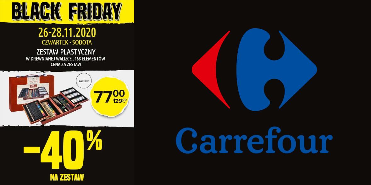 Carrefour: -40% na zestaw plastyczny 26.11.2020