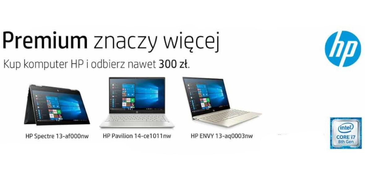 zwrotu za zakup komputera HP