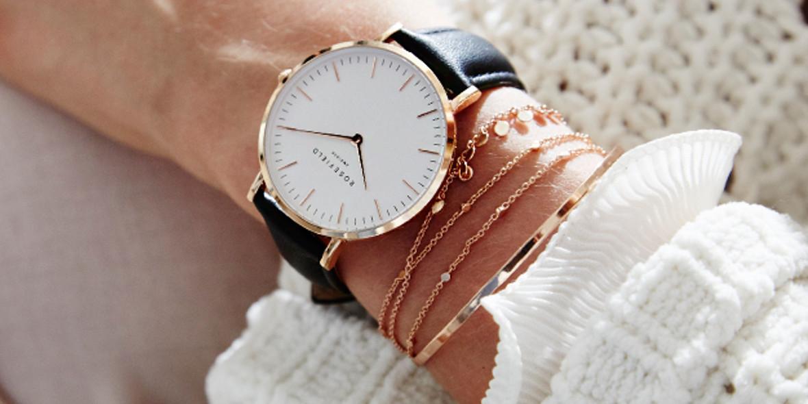 Swiss: Gratis stylowa bransoletka przy zakupie zegarka 01.01.0001