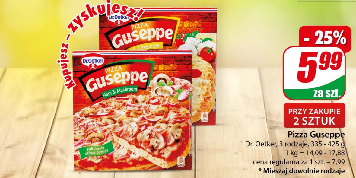 Dino: -25% na Pizzę Guseppe 21.10.2021