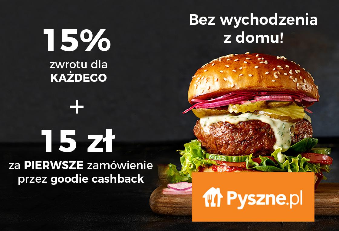 15% dla Wszystkich + 15 zł dla Nowych!