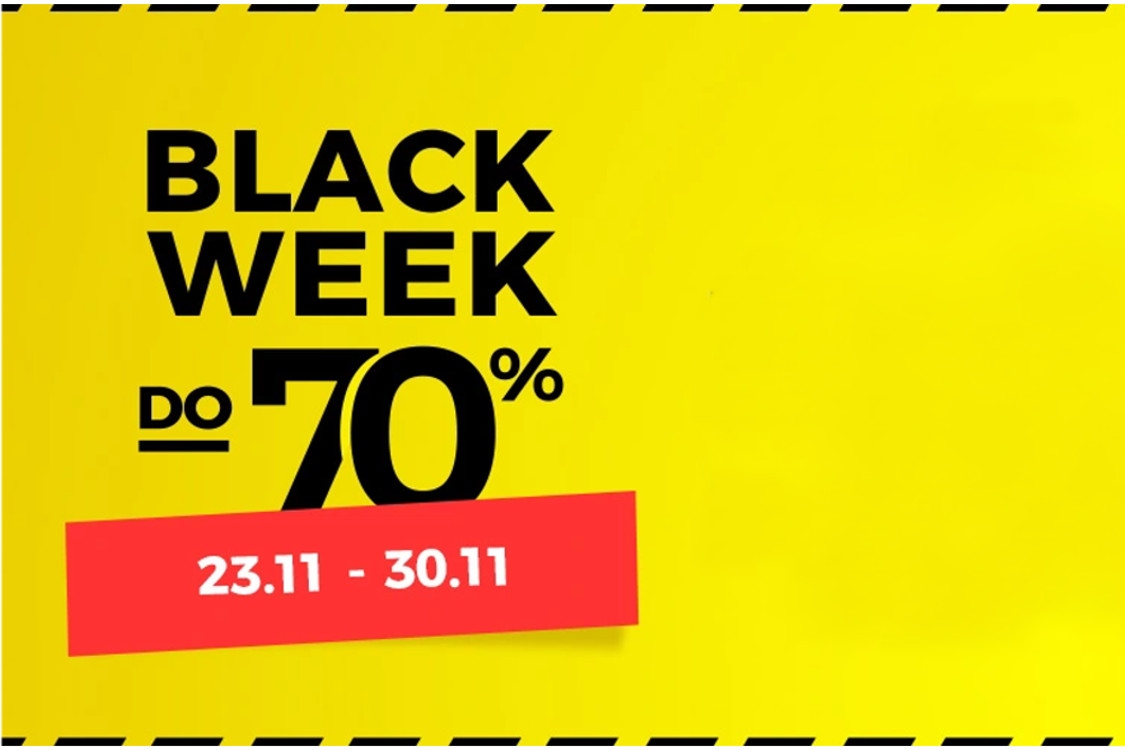 Już wkrótce do -70% na black week