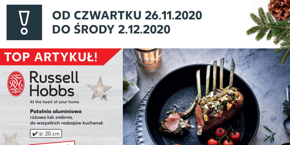 Kaufland: TOP ARTYKUŁ OD 26.11 2020-11-26