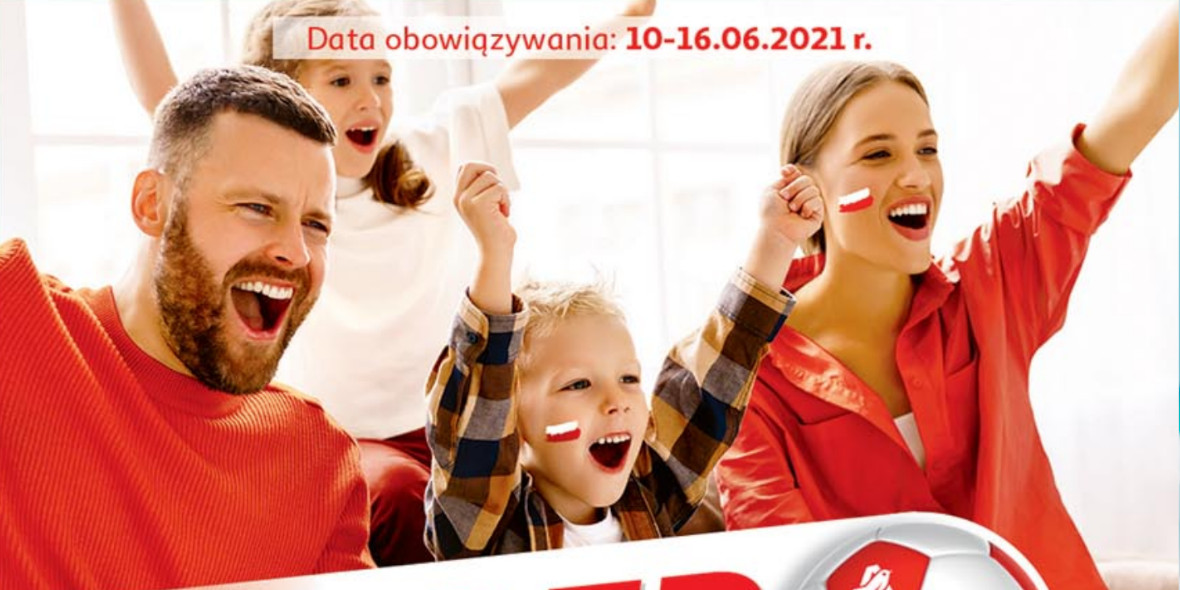 Auchan: Gazetka Auchan - Euro 2020 2021-06-10