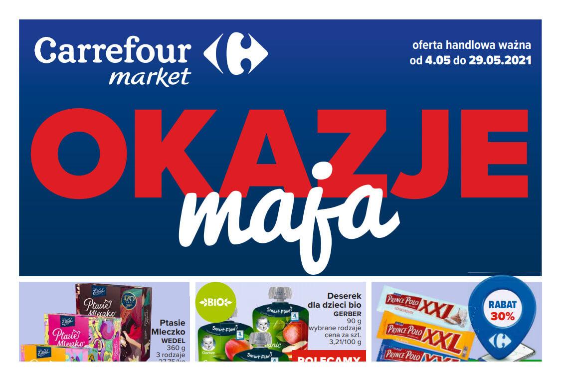 Carrefour Market: Okazje maja 2021-05-04