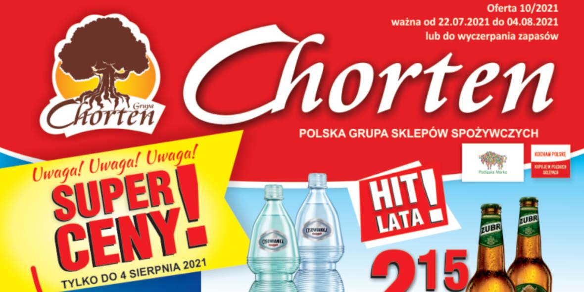 Chorten: Gazetka Chorten - Podlasie 2021-07-22